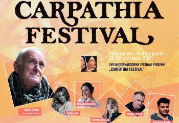 """XVII EDYCJA """"RZESZÓW CARPATHIA FESTIVAL"""" 2021 JUŻ 21 i 22 SIERPNIA w FILHARMONII PODKARPACKIEJ!"""