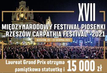 Zgłoś swój udział w XVII Carpathia Festival 2021